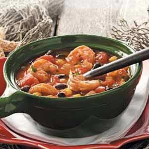 Shrimp and Black Bean Soup Recipe