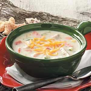 Salmon Chowder for 2 Recipe