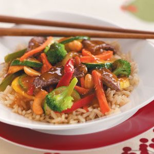 Cashew Beef Stir-Fry Recipe