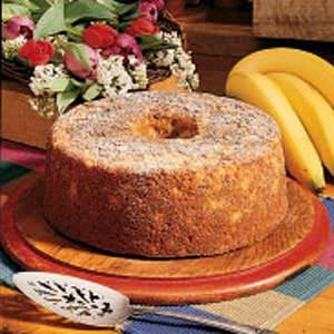 Banana Nut Cake Recipe