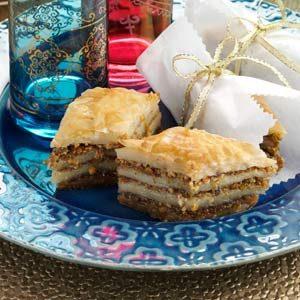 Almond Pistachio Baklava Recipe photo by Taste of Home