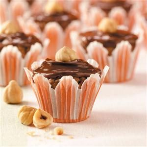 Chocolate-Hazelnut Brownie Bites Recipe