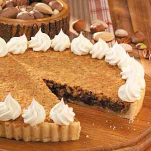 Mixed Nut Chocolate Tart Recipe