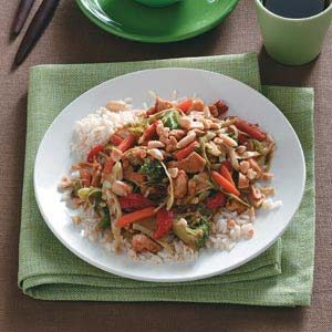 Nutty Chicken Stir-Fry Recipe