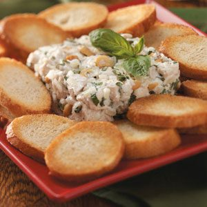 Asiago Chicken Spread Recipe