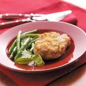 Onion-Herb Pork Chops