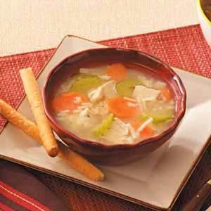 Chick-n-Rice Soup Recipe