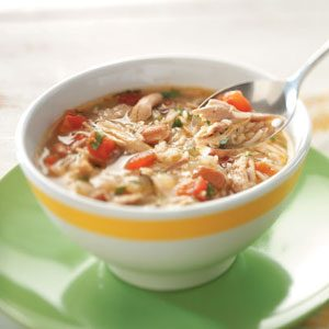 Cajun Chicken & Rice Soup