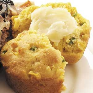 Favorite Jalapeno Corn Muffins Recipe