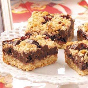Chocolate Raspberry Squares Recipe