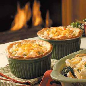 Seafood Potpies Recipe