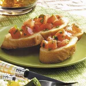 Refreshing Tomato Bruschetta Recipe