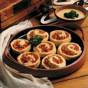 Ham Roll-ups Recipe