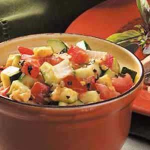 Cheddar Zucchini Saute Recipe