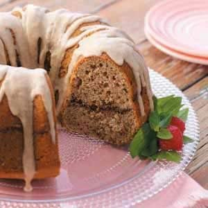 Pecan Sour Cream Cake Recipe