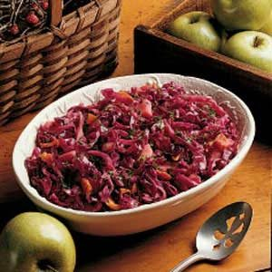 Red Cabbage with Apples Recipe