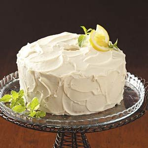 Homemade Lemon Chiffon Cake Recipe