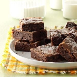 Double Chocolate Orange Brownies Recipe