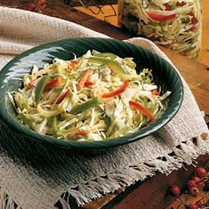 Winter Cabbage Salad Recipe