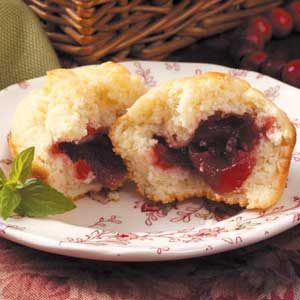Cranberry Surprise Muffins Recipe