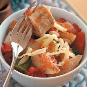 Italian Sausage and Vegetables Recipe