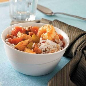 Slow-Cooked Hearty Jambalaya