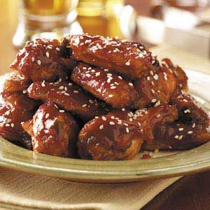 Sweet 'n' Tangy Chicken Wings Recipe