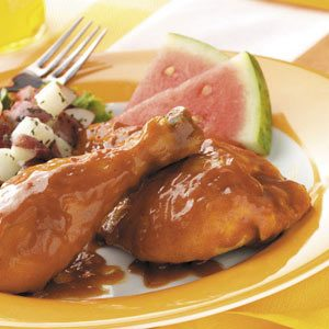 Slow 'n' Easy Barbecued Chicken Recipe