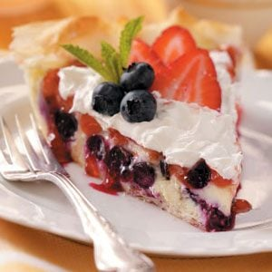 Berry Cheesecake Pie Recipe
