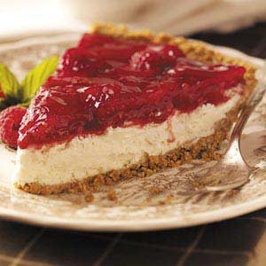 Lemon Raspberry Cheesecake