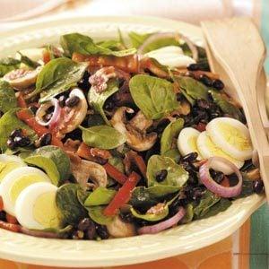 Southwestern Spinach Salad Recipe