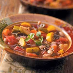 Swiss Chard Bean Soup Recipe