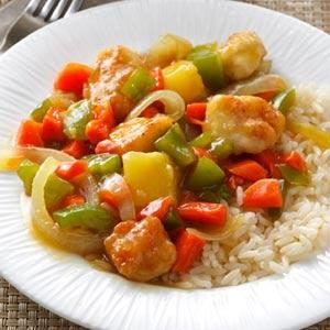 Chicken & Pineapple Stir-Fry Recipe