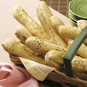 Soft Breadsticks Recipe