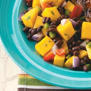 Black Bean-Mango Salad