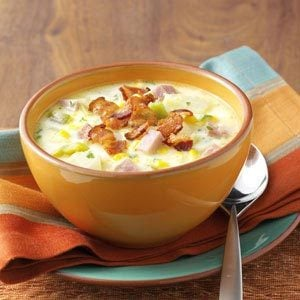 Ham and Corn Chowder Recipe