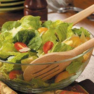Parmesan Romaine Salad Recipe