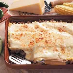 Three-Cheese Sausage Lasagna Recipe