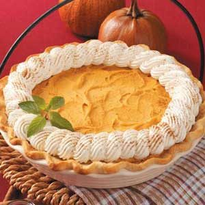 Fluffy Pumpkin Pie