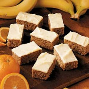 Banana Orange Bars Recipe