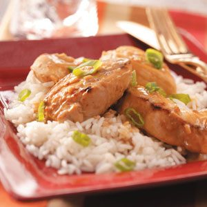 Chicken with Peanut Sauce Recipe