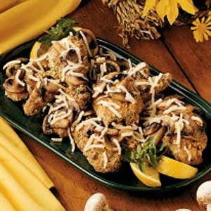 Mushroom Almond Chicken Recipe