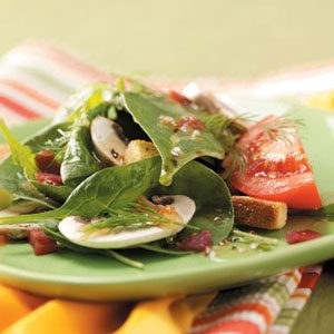 Italian Spinach Salad Recipe