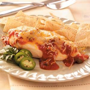 Mexican Cheese and Salsa Chicken Recipe