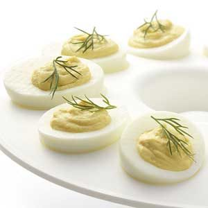 Deviled Eggs with Dill