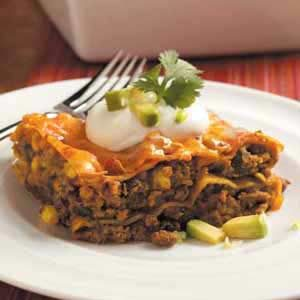 Contest-Winning Tex-Mex Lasagna Recipe