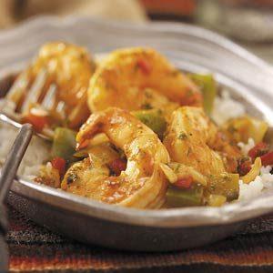 Spicy Shrimp with Rice Recipe