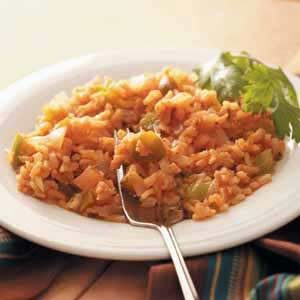 Speedy Spanish Rice Recipe