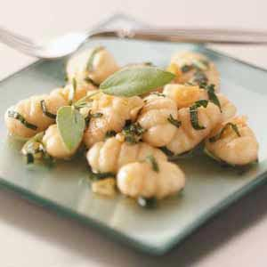 Gnocchi in Sage Butter