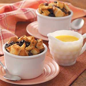 Bread Pudding with Butter Sauce Recipe